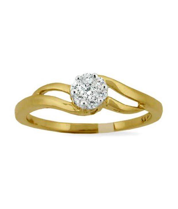 Avsar 18kt Gold 0.16 Ct. Diamond Ring