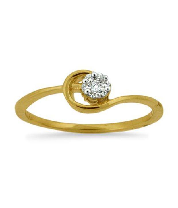 Avsar 18kt Gold 0.13 Ct. Diamond Glory Ring