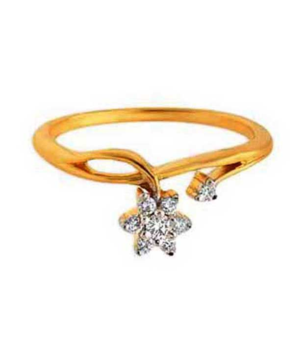 Avsar 0.14 Ct. Diamond 18kt Gold Ring