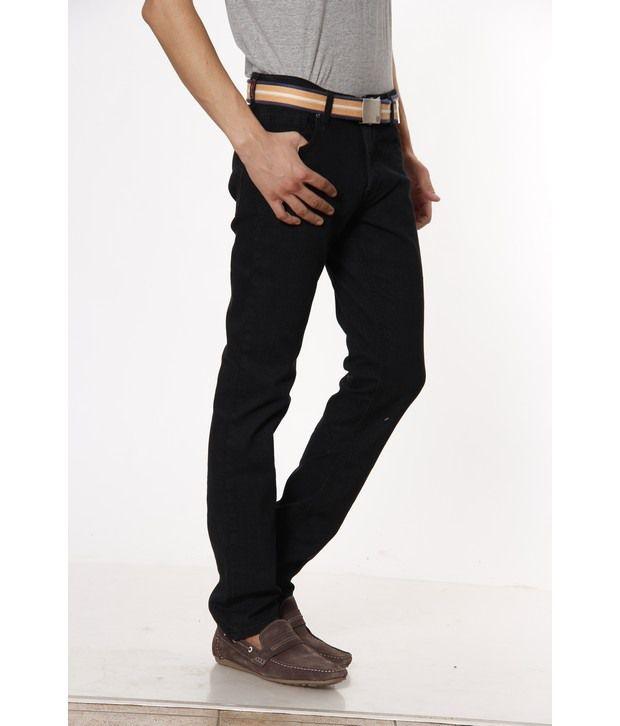 Lawman Pg3 Black Jeans