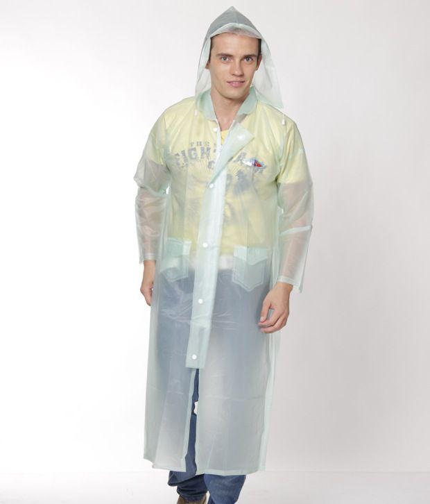 Jorss Green Large Women Raincoat