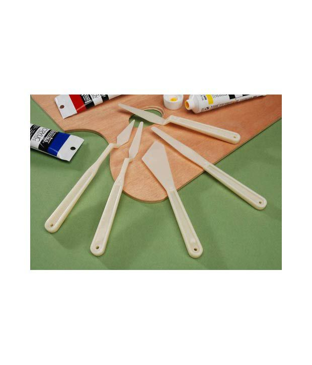 darice plastic palette knife set buy online at best price in india