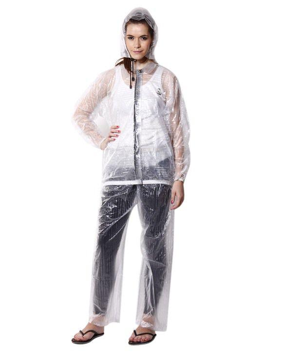 Jorss Transparent Medium Unisex Raincoat Buy Jorss