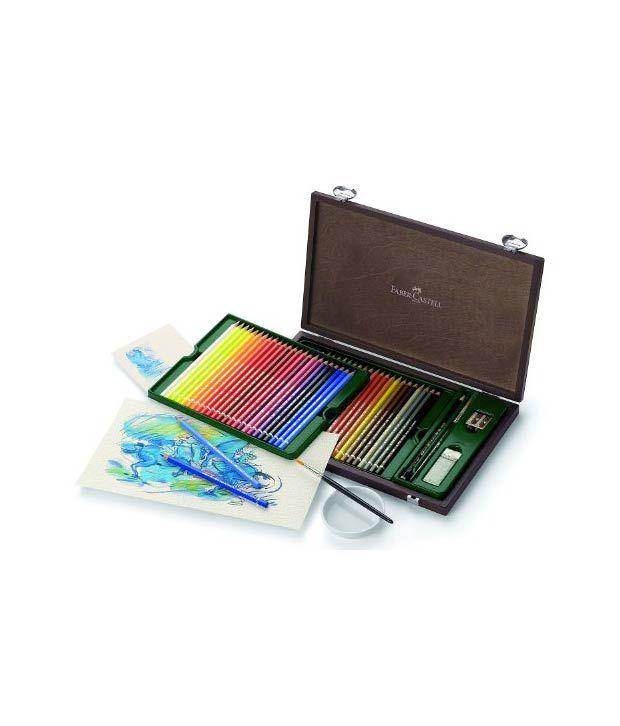 Faber-Castell Albrecht Durer Watercolor Pencils Wood Case ...