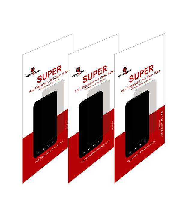 VEEGEE 3X Anti-Finger Print Anti Glare Matte Screen Protector Scratch Guard For Sony Xperia SP (Pack of 3)