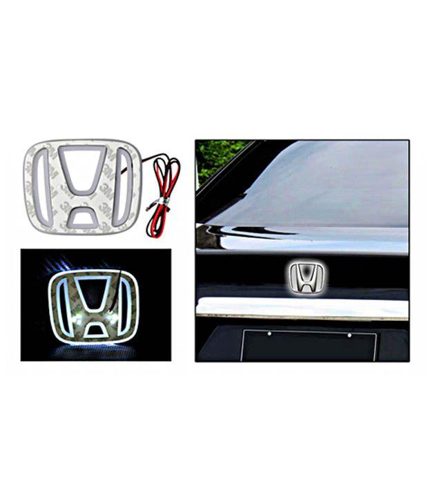 Speedwav Honda Car Emblem Badge Logo White Light Buy Speedwav