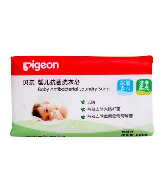 Pigeon Baby Antibacterial Laundry Soap 200 gms: Buy Pigeon ...