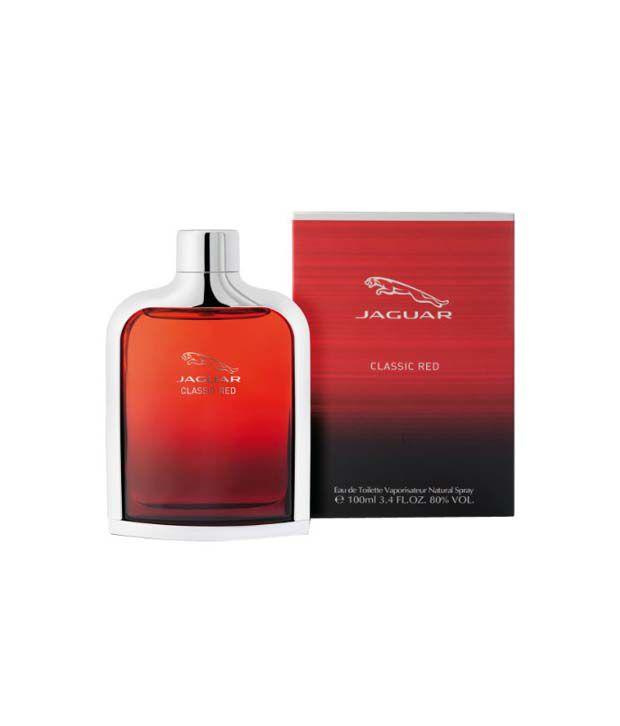 Jaguar Perfume Price In India: Jaguar Classic Red Eau De Toilette Spray For Men 100 Ml: Buy Online At Best Prices In India