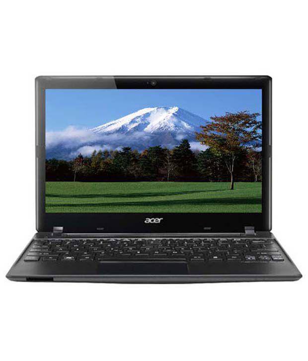 Acer Aspire One 756 Netbook (NU.SGYSI.014) (Intel Dual Core 1007- 2GB RAM- 500GB HDD- 29.46cm (11.6)- Linux) (Black)