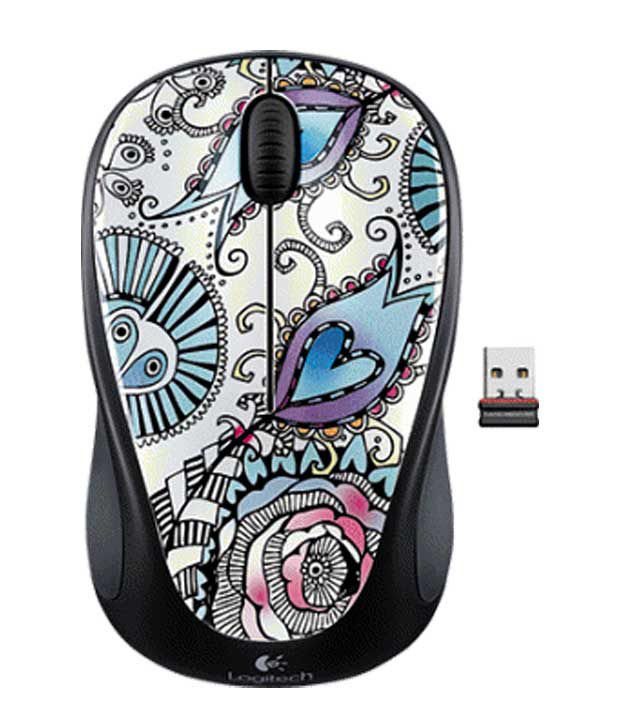 Logitech Wireless Mouse M235 (Floral Foray)