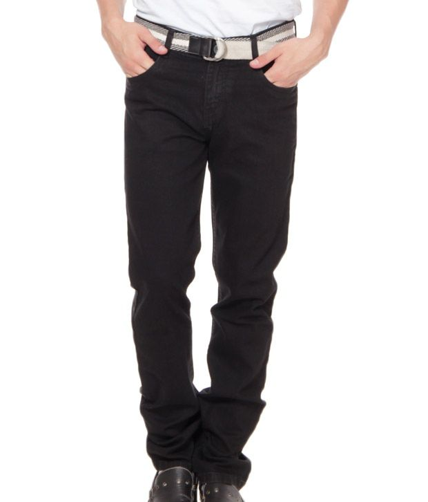 Fever Black Basics Stretchable Jeans