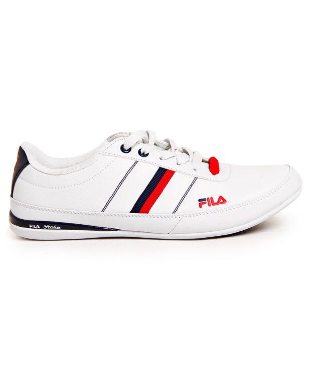 3a2910477 Fila Robust White Sports Shoes - Buy Fila Robust White Sports Shoes ...