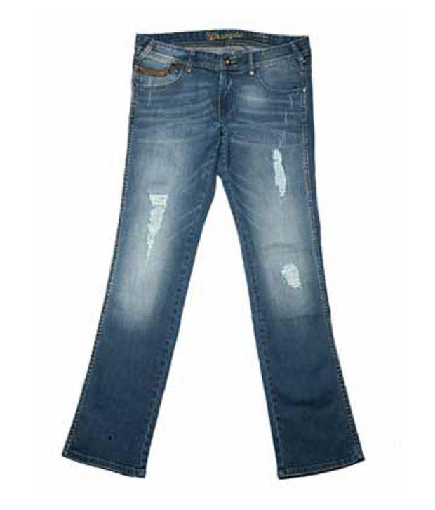 Wrangler Elegant Blue Jeans