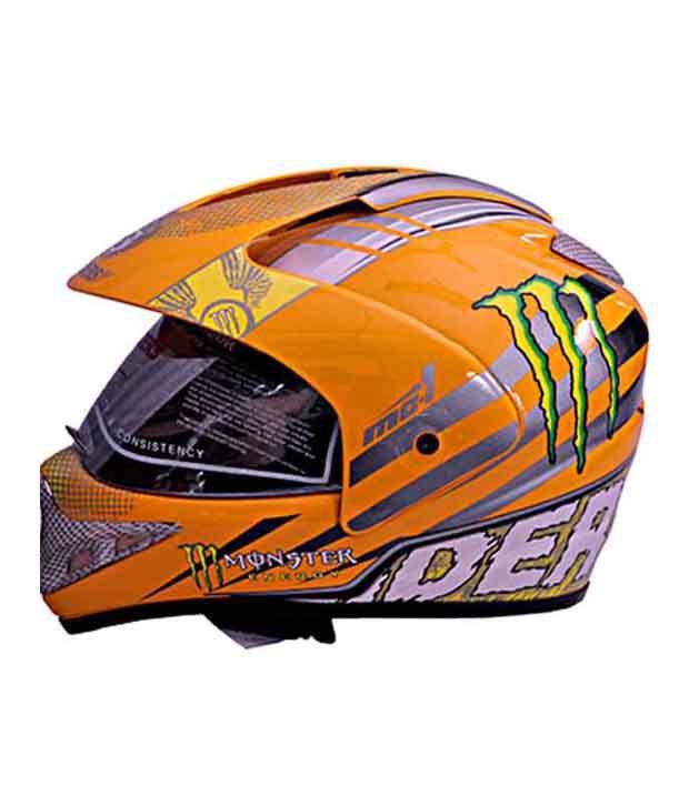 e8dbb510 ... Gliders- Full Face Motocross Helmet With Visor -MC-1 Yellow - Size L ...