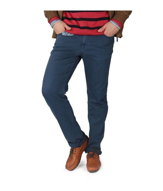 American Swan Navy Tennessee Tall Jeans