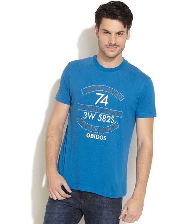 Obidos Blue T Shirt