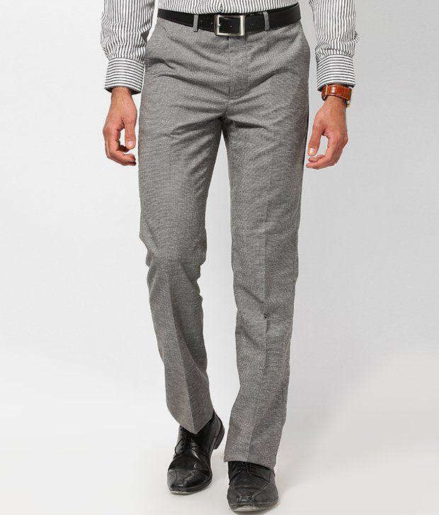 London Bridge Exclusive Grey Formal Trouser