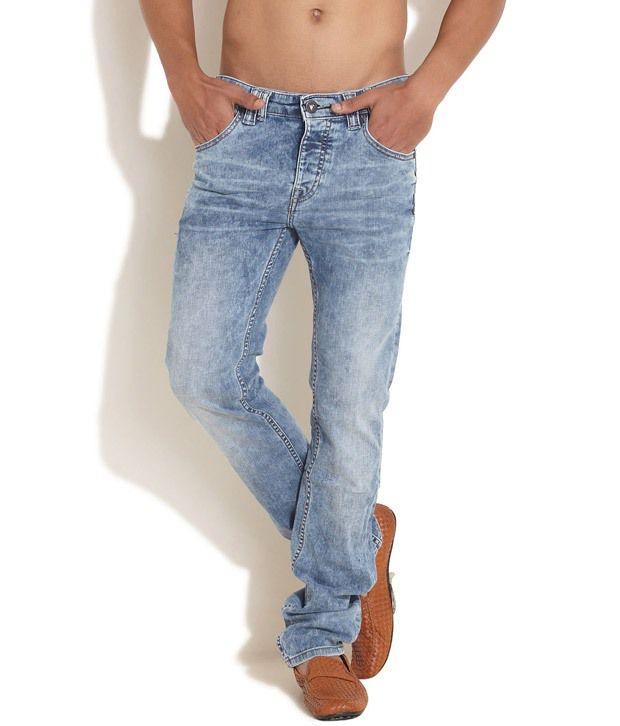Pepe Jeans London Blue Stone Wash Jeans