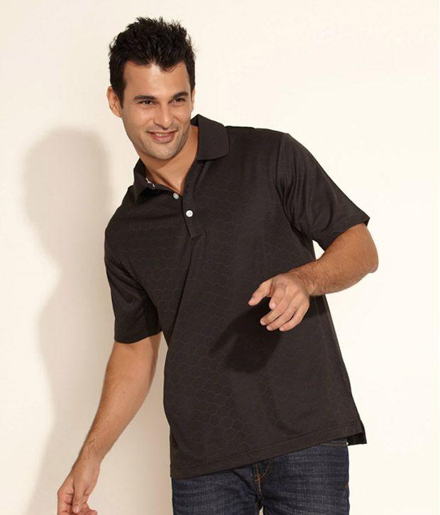 Adidas cool black polo t shirt buy adidas cool black for Cool polo t shirts