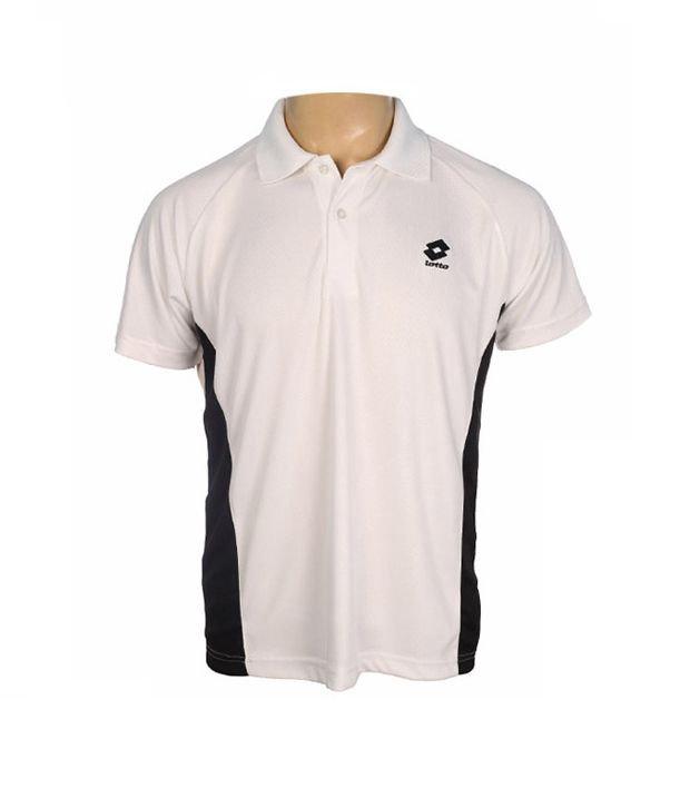 Lotto White Polo T Shirt