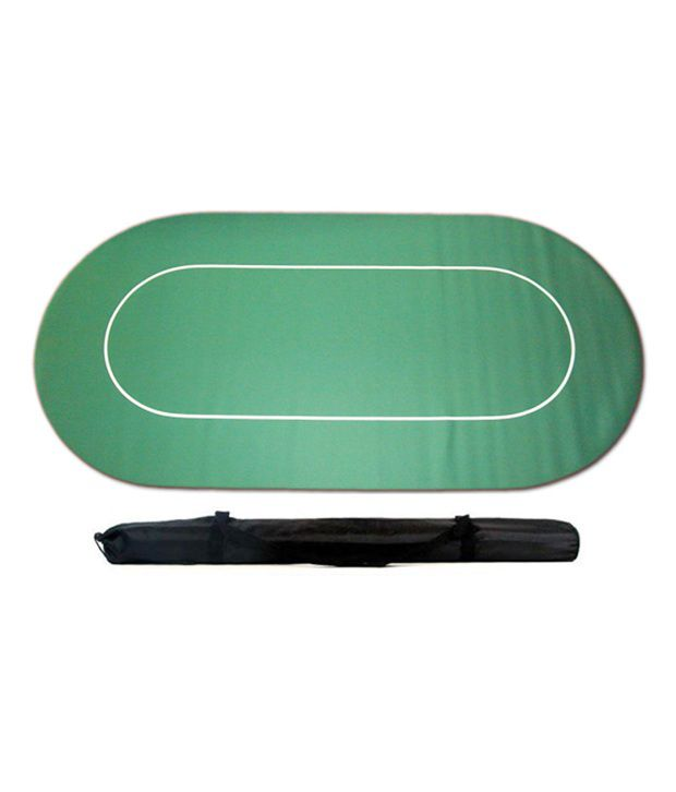 Casinoite - Green Rubber Poker Felt/Layout