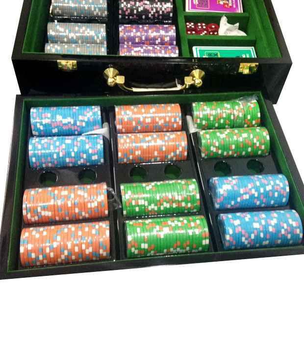 Casinoite - Premium Poker Chipset Solid