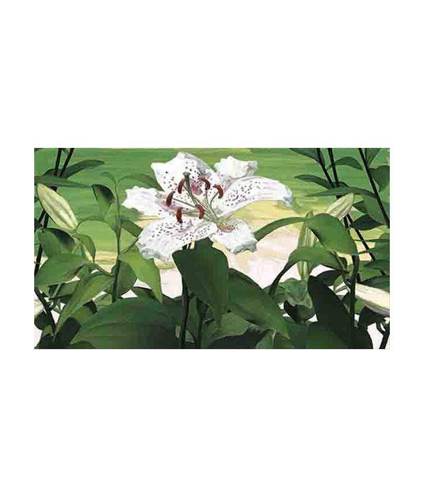 Azure Decor Canvas painting print- Floral SD14-16
