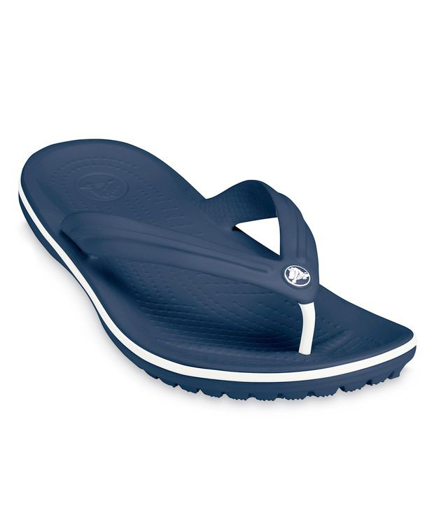 crocs crocband navy blue flip flops price in india buy