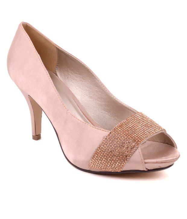 7680362caf1e Carlton London Nude Peep Toe Pumps Price in India- Buy Carlton London Nude  Peep Toe Pumps Online at Snapdeal