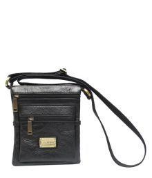 Chanter RA734 Black Leather Cross Body Sling Bag