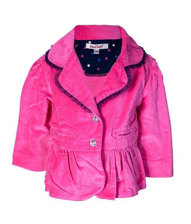 Nauti Nati Pink Jacket For Kids