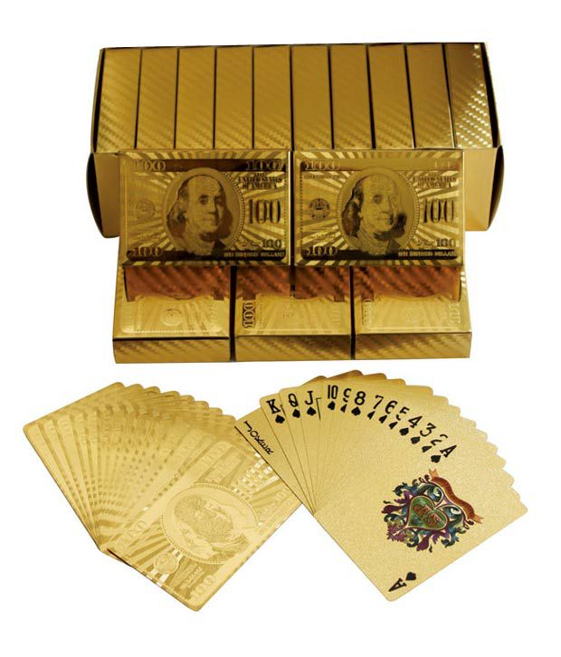 Veera Gold Playing Cards (Single Pack)