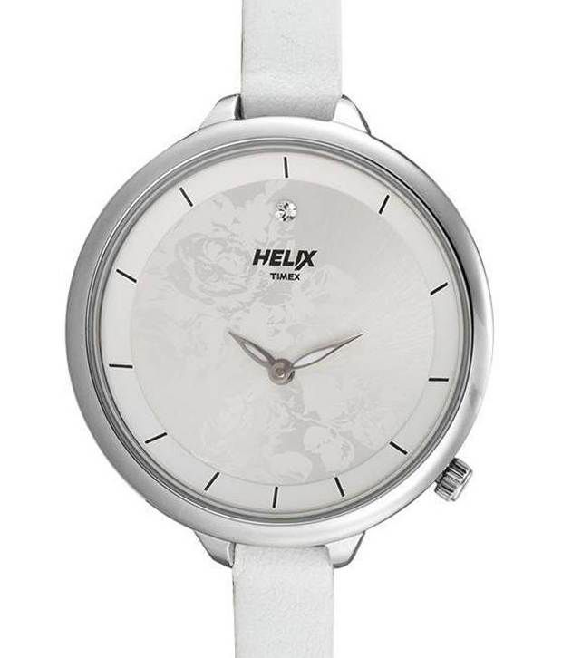 Helix By Timex Helix Charming White Watch