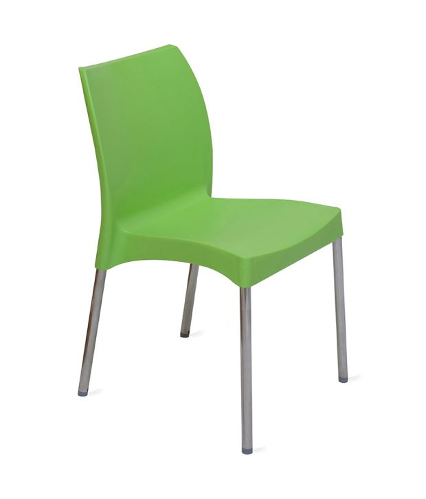 Nilkamal Novella 07 Ss Chair Leg Without Arm Without Cushion Green Buy Nilkamal Novella 07 Ss