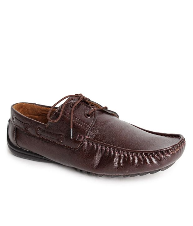 c71a6eba22d Bacca Bucci Brown Boat Shoes Shoes - Buy Bacca Bucci Brown Boat Shoes Shoes  Online at Best Prices in India on Snapdeal