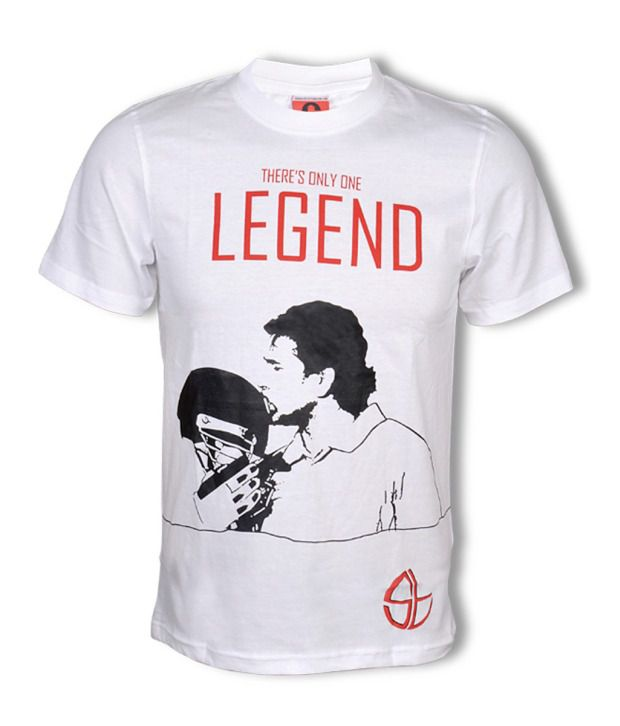 Collectabillia There Is Only One Legend White T Shirt