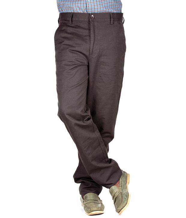 Polo Sport Smart Brown Formal Trouser