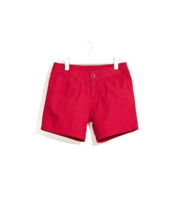 UCB Kids Casual Bright Cotton Shorts For Kids