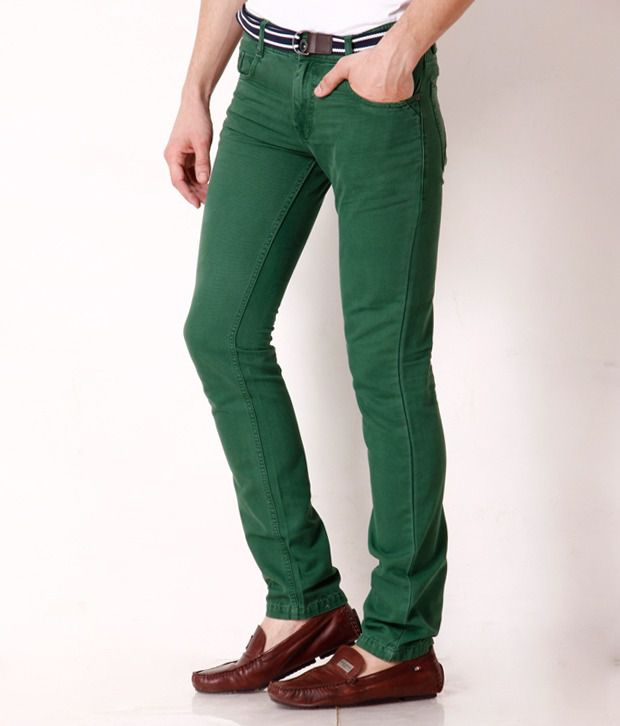 Jogur Green Slim Fit Chinos