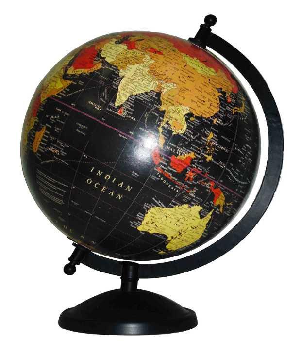 M4Craft Black World Globe