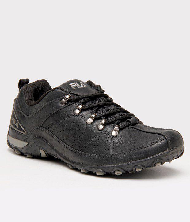 Fila Swift Black Running Shoes