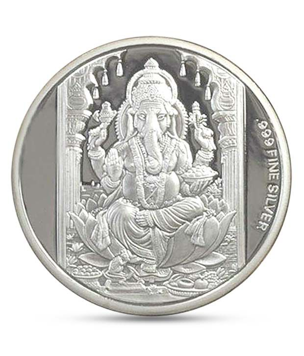 50 Gm 999 Purity Silver Coin By Ag Buy 50 Gm 999 Purity