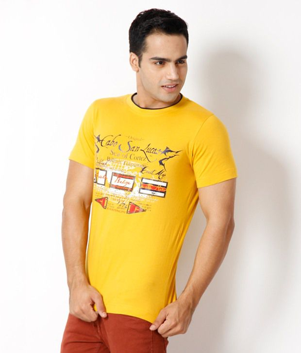Riverstone Yellow T Shirt