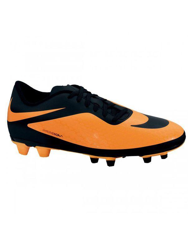 reputable site 1fe90 555df ... Nike Hypervenom Phade FG Orange Football Shoes ...