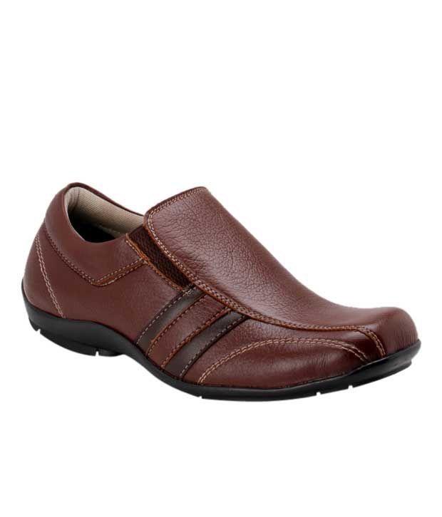 Roony Stylish Brown Slip-on Shoes