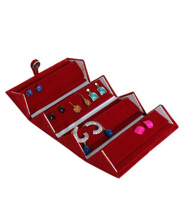 A-Maze UT-AM4045-AllRING Red Pocket Earing Case