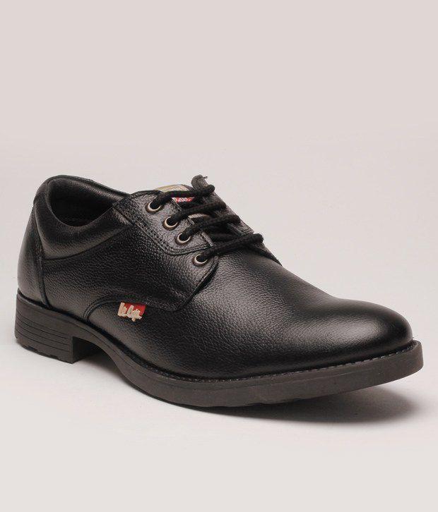 cd8dfae04af2 Lee Cooper Black Formal Shoes Price in India- Buy Lee Cooper Black Formal  Shoes Online at Snapdeal