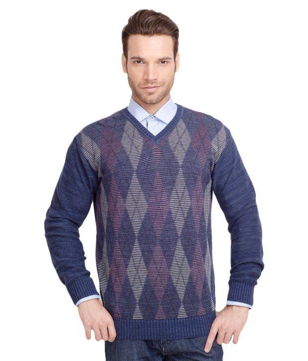 ALX New York Dark Blue Sweater
