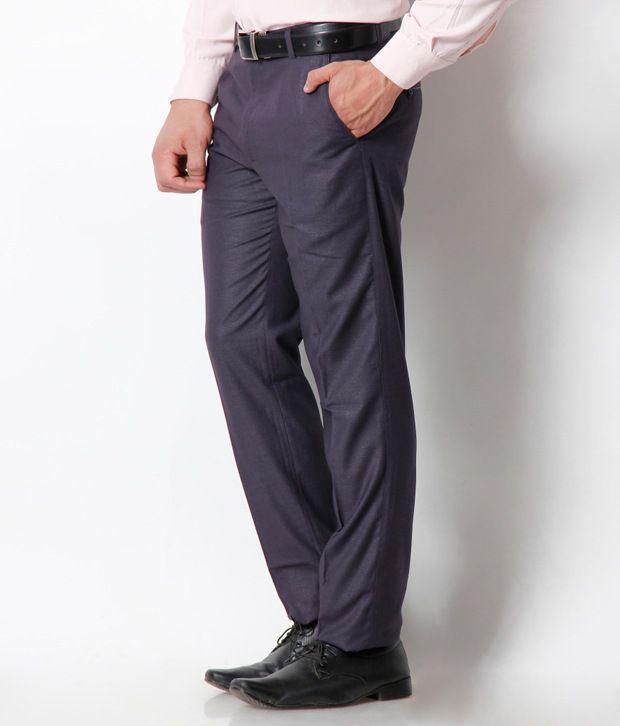 Platinum Studio Classy Navy Trouser