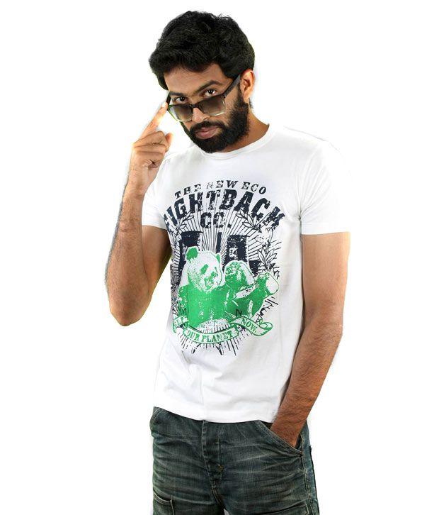 Menthol Men's T- Shirt - SS MES-1095 (White)